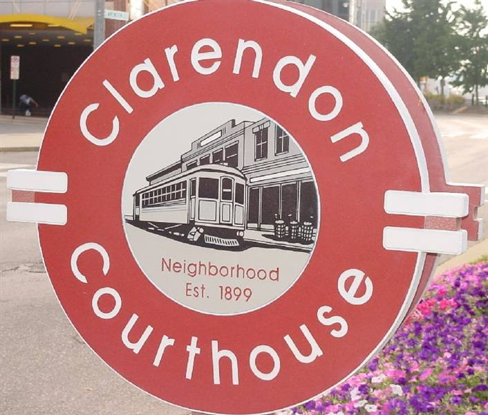 Clarendon Sign RS