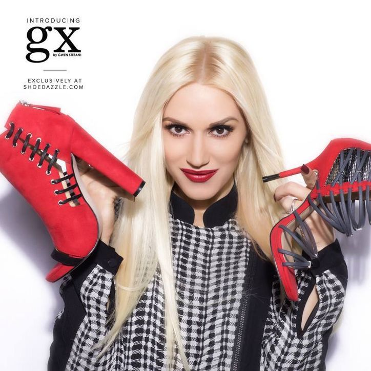 Gwen Stefani Launches Affordable Line of Handbags & Shoes with ... Gwen Stefani