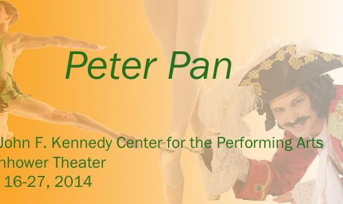 Enter to WIN a Pair of Tickets To The Washington Ballet's PETER PAN at the Kennedy Center April 16-27th