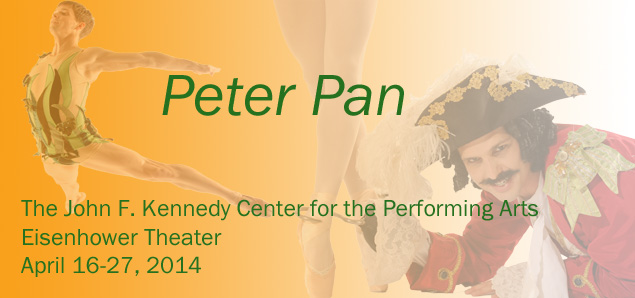 Win a Pair of Tickets to 2014 The Washington Ballet's PETER PAN