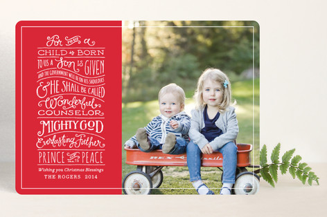 'Tis the Season with Holiday Cards from Minted.com