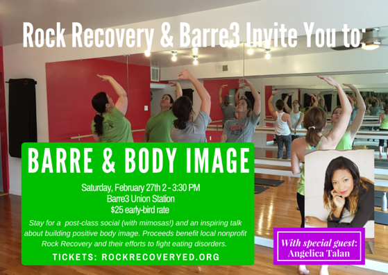 Barre & Body Image with Angelica Talan