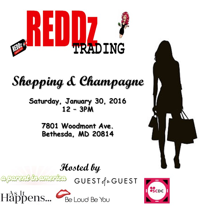 Shopping & Champagne Flyer