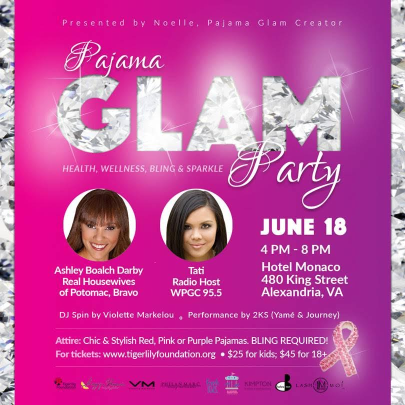 Pajama Glam Party