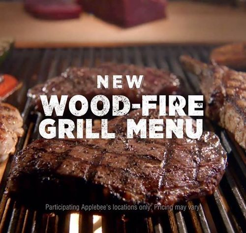 Experience Applebee's New Wood Fire Grill Menu: $30 Gift Card Giveaway