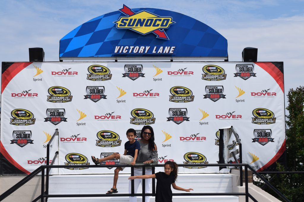 Monster-Mile-Victory-Lane-Clarendon-Moms