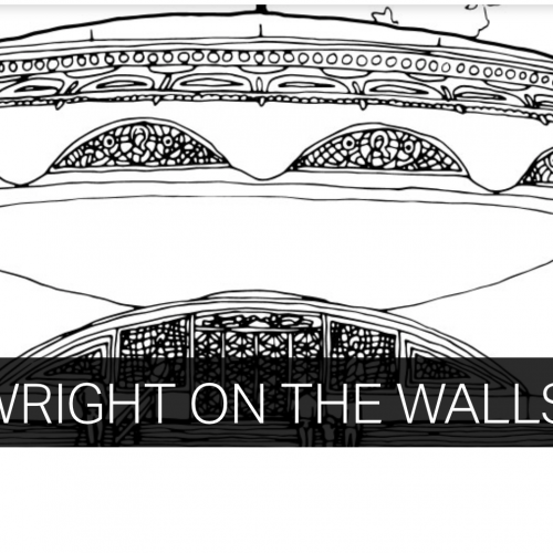 Wright On The Walls at the National Building Museum