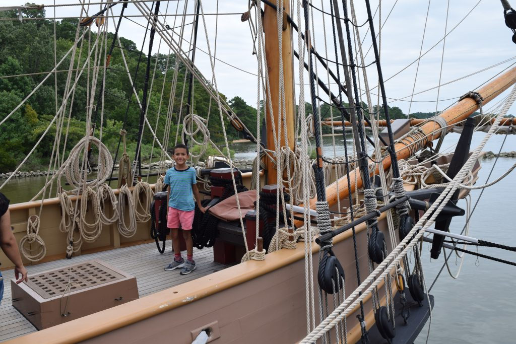 Jamestown Ships