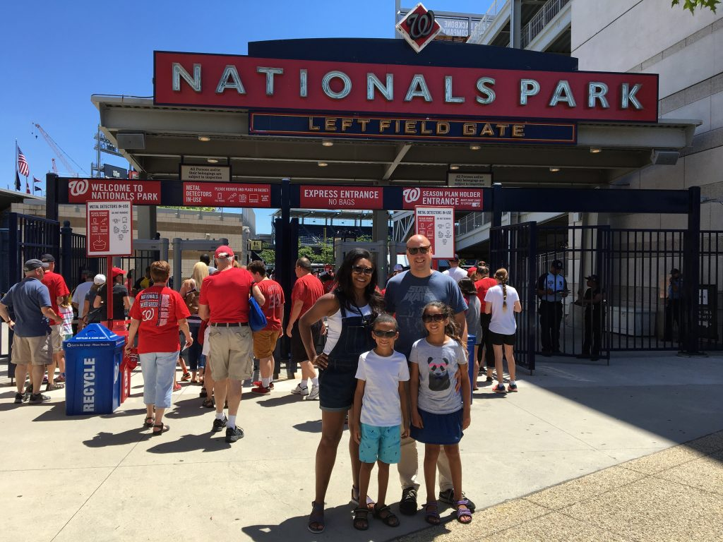 Family Sundays at Nationals Park