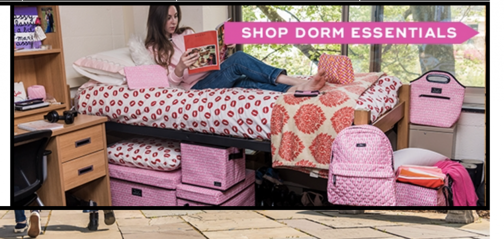 Dorm Essentials SCOUT Bags