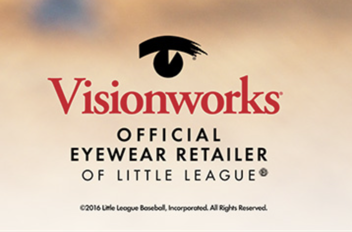 Visonworks Official Eyewear Retailer of Little League