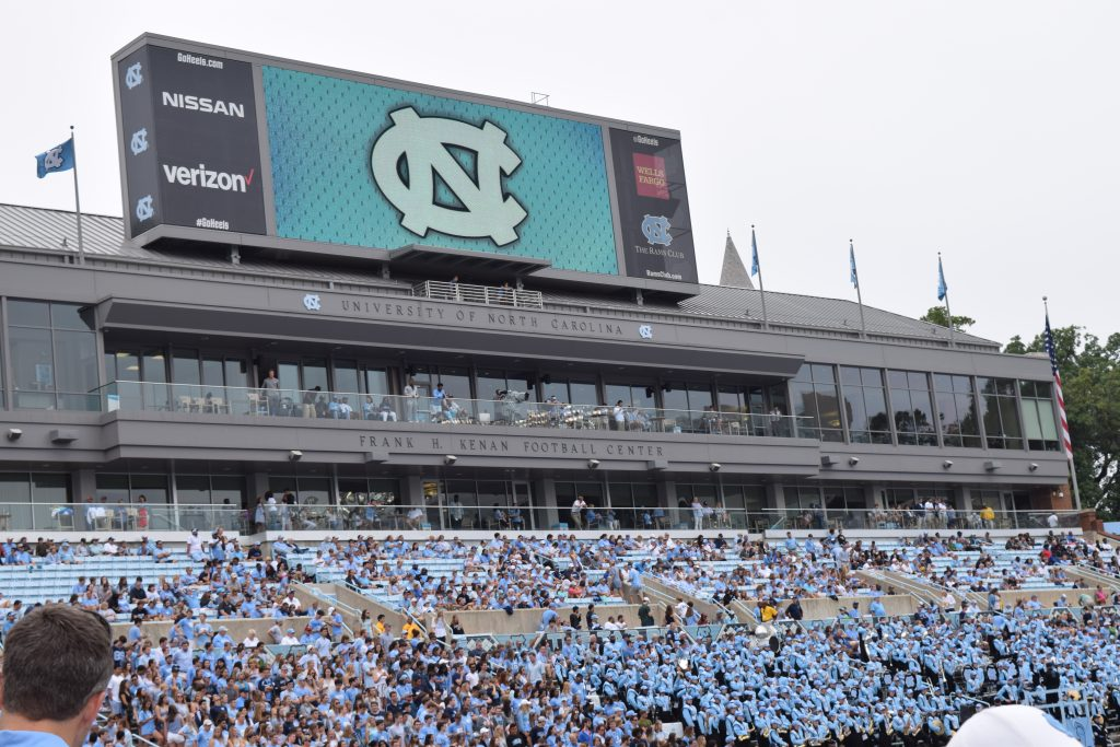 UNC Chapel Hill Football Game