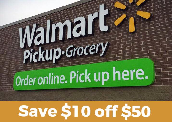 Walmart Grocery Save 10