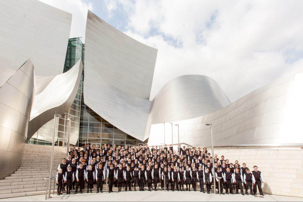 National Children's Chorus Disney Hall Best Group
