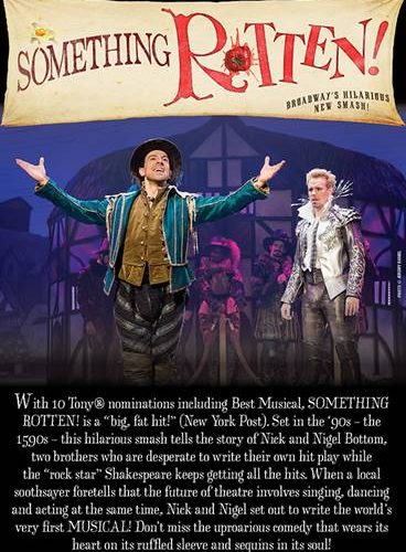 Something Rotten! at The National Theatre + Giveaway