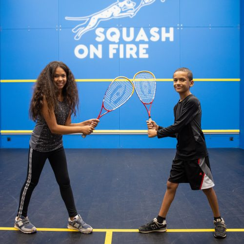 Squash on Fire Offers Summer Camps & More