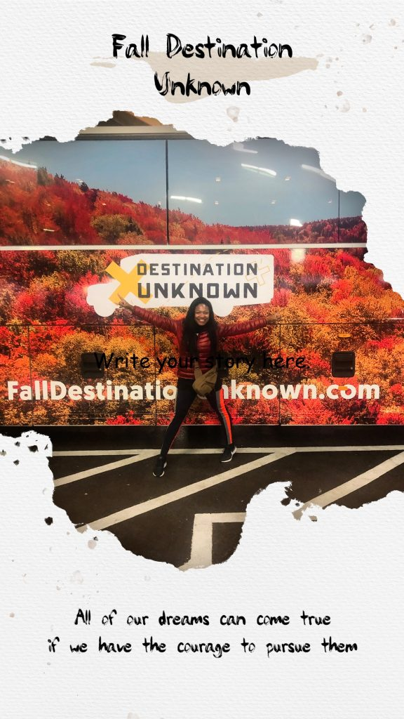 Fall Destination Unknown West Virginia